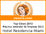 Top Clean award Venere